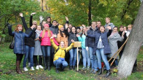 Во «Владимирском саду» прошла экологическая акция