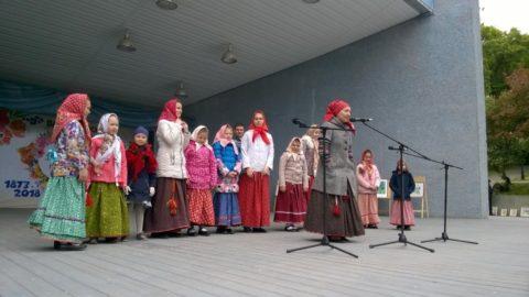 Концертная программа «Ура каникулы» в парке «Владимирский сад»